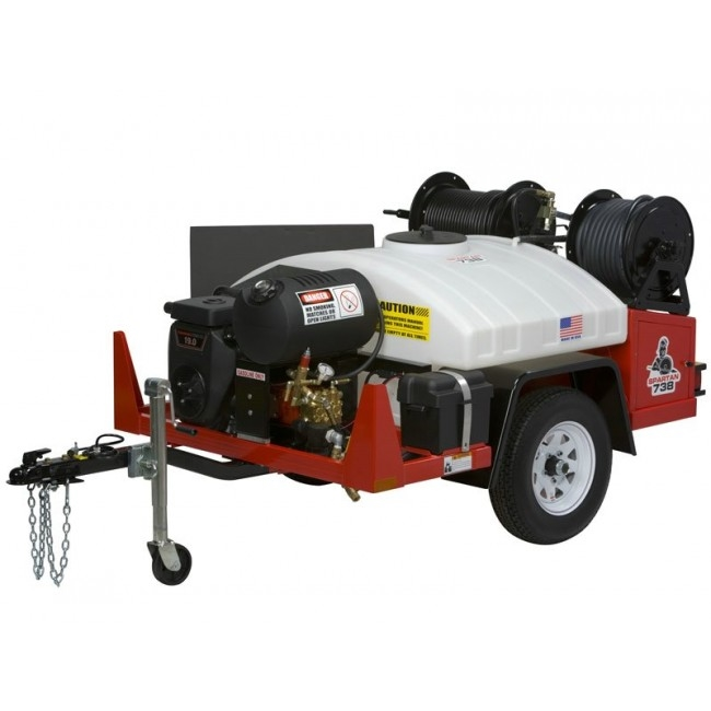Spartan Jetter machine